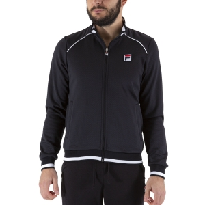 Men's Tennis Jackets Fila Spike Jacket  Black FBM211020900