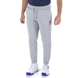 Pantaloni e Tights Tennis Uomo Fila Sweat Larry Pantaloni  Light Grey Melange XFM211025C850