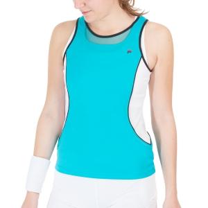 Top de Tenis Mujer Fila Vivienne Top  Turquoise FOL2192051730