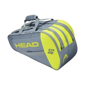 Borsa Padel Head Core Combi Borsa  Grey/Neon Yellow 283601 GRNY