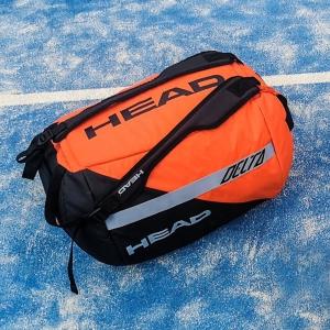 Head Delta Sport Duffle - Orange/Black