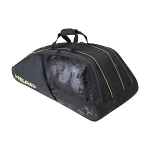 Tennis Bag Head Extreme Nite x 12 Monstercombi Bag  Black/Neon Yellow 284121 BKNY