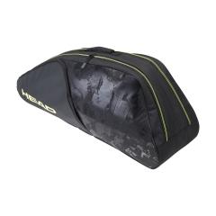 Head Extreme Nite x 6 Combi Bag - Black/Neon Yellow