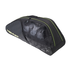 Tennis Bag Head Extreme Nite x 6 Combi Bag  Black/Neon Yellow 284131 BKNY