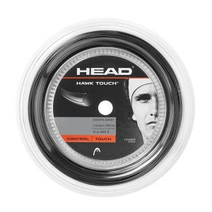 Monofilament String Head Hawk Touch 1.30 120 m Reel  Anthracite 281214 16AN