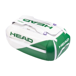 Tennis Bag Head White Proplayer Duffle Bag  White/Green 283640 WHGE