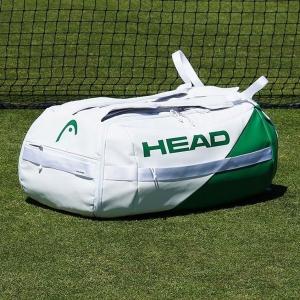 Head White Proplayer Duffle Bag - White/Green