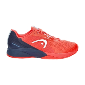 Calzado Tenis Hombre Head Revolt Pro 3.5 Clay  Neon Red/Dark Blue 273111 NRDB