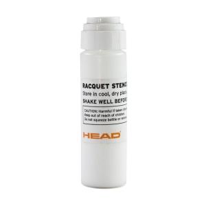 Rackets Accessories Head Stencil Ink Logo  White 288777 WH