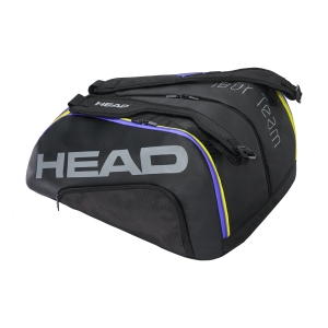 Borsa Padel Head Tour Team Monstercombi Borsa  Black Mixed 283591 BKMX