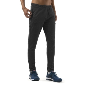 Men's Tennis Pants and Tights Joma Classic Pants  Black/Anthracite 101654.110