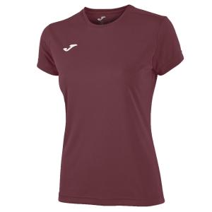 Top and Shirts Girl Joma Combi TShirt Girl  Burgundy 900248.671