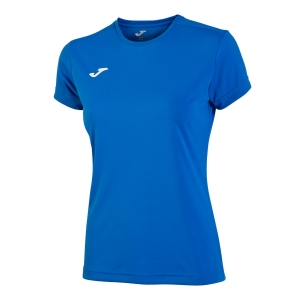 Tennis Polo and Shirts Joma Combi TShirt Girl  Royal 900248.700
