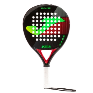 Pala Padel Joma Game Padel  Black/Fluo Green 400733.117
