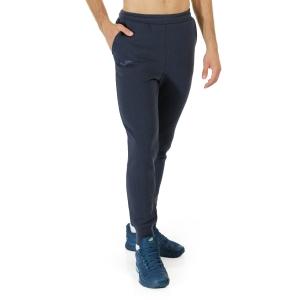 Men's Tennis Pants and Tights Joma Panteon II Logo Pants  Dark Navy 101675.331