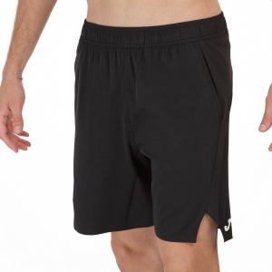 Men's Tennis Shorts Joma Open II 8in Shorts  Black 101451.100