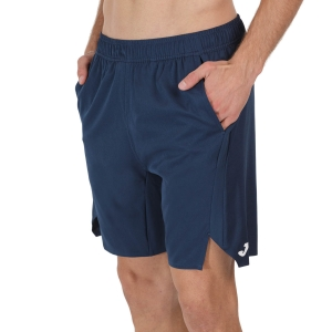 Men's Tennis Shorts Joma Open II 8in Shorts  Dark Navy 101451.331