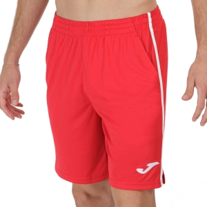 Men's Tennis Shorts Joma Drive II 7in Shorts  Red/White 102252.602