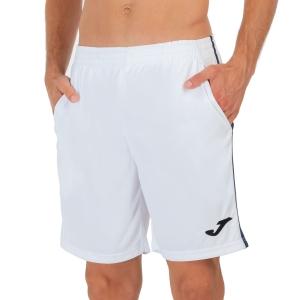 Men's Tennis Shorts Joma Drive II 7in Shorts   White/Navy 102252.203