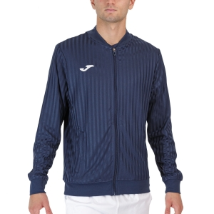 Men's Tennis Jackets Joma Open III Full Zip Jacket  Dark Navy 102249.331