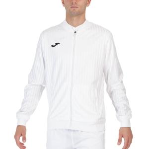 Men's Tennis Jackets Joma Open III Full Zip Jacket  White 102249.200