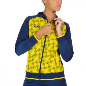 Giacche Tennis Donna Joma Supernova III Giacca  Dark Navy/Yellow 901430.339