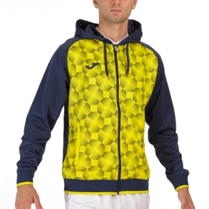 Maglie e Felpe Tennis Uomo Joma Supernova III Felpa  Navy/Yellow 102262.339