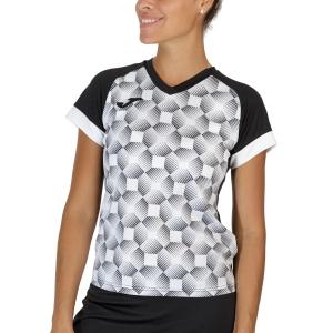 Camisetas y Polos de Tenis Mujer Joma Supernova III Camiseta  Black/White 901431.102