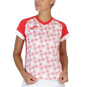 Camisetas y Polos de Tenis Mujer Joma Supernova III Camiseta  Red/White 901431.602