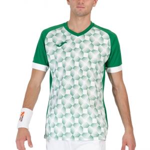 Maglietta Tennis Uomo Joma Supernova III Maglietta  Green/White 102263.452
