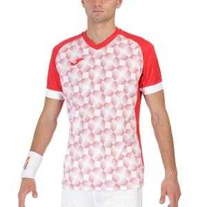 Maglietta Tennis Uomo Joma Supernova III Maglietta  Red/White 102263.602