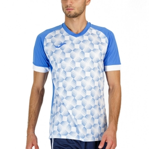 Camisetas de Tenis Hombre Joma Supernova III Camiseta  Royal/White 102263.702