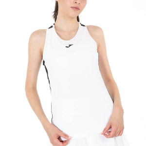 Women`s Tennis Tanks Joma Torneo Tank  White/Black 901297.201