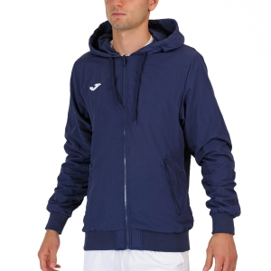 Men's Tennis Jackets Joma Torneo Full Zip Jacket  Navy/White 102239.332