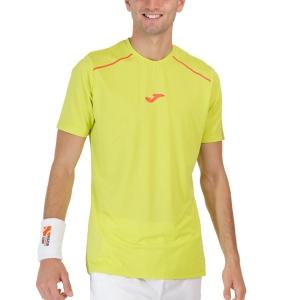 Camisetas de Tenis Hombre Joma Torneo Camiseta  Lime 101815.426