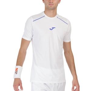Camisetas de Tenis Hombre Joma Torneo Camiseta  White 101815.200