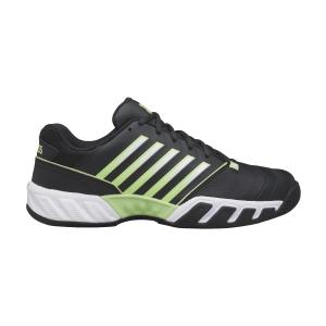 Men`s Tennis Shoes KSwiss Bigshot Light 4  Blue Graphite/Soft Neon Green/White 06989406M