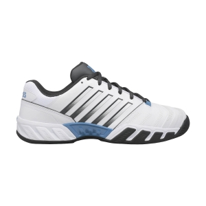 Men`s Tennis Shoes KSwiss Bigshot Light 4  White/Dark Shadow/Swedish Blue 06989130M