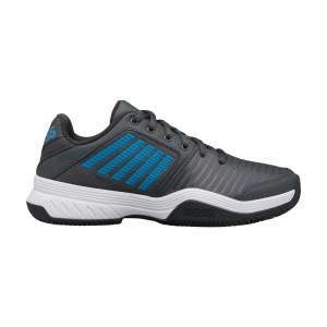 Scarpe Tennis Uomo KSwiss Court Express Clay  Dark Shadow/White/Swedish Blue 06750029M