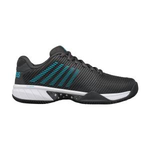 Men`s Tennis Shoes KSwiss Hypercourt Express 2 Clay  Dark Shadow/Scuba Blue/White 06614028M