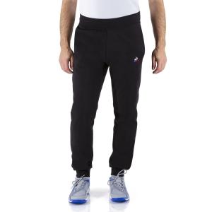 Men's Tennis Pants and Tights Le Coq Sportif Logo Pants  Black 1922003