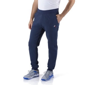 Pantaloni e Tights Tennis Uomo Le Coq Sportif Logo Pantaloni  Dress Blues 1922002