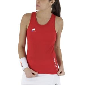 Top de Tenis Mujer Le Coq Sportif Match Top  Pur Rouge 2020714