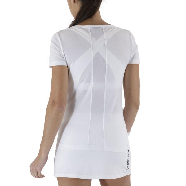Le Coq Sportif Match T-Shirt - New Optical White