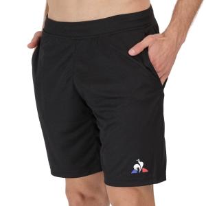 Men's Tennis Shorts Le Coq Sportif Match 9in Shorts  Black 2120574