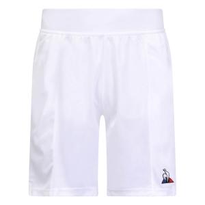 Men's Tennis Shorts Le Coq Sportif Match 9in Shorts  New Optical White 1821547
