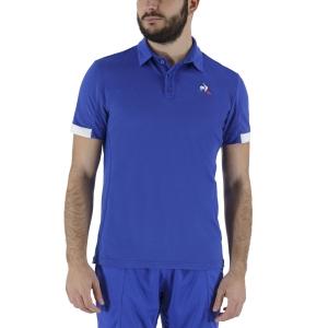 Men's Tennis Polo Le Coq Sportif Match Polo  Cobalt 2021034