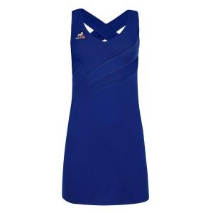 Tennis Dress Le Coq Sportif Performance Pro Dress  Bleu Electro 2120947