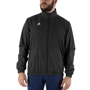 Men's Tennis Jackets Le Coq Sportif Rain Jacket  Black 1821558