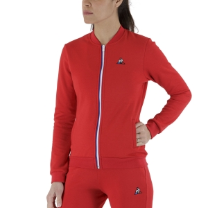Women's Tennis Shirts and Hoodies Le Coq Sportif Sportstyle Sweatshirt  Pur Rouge 2110209